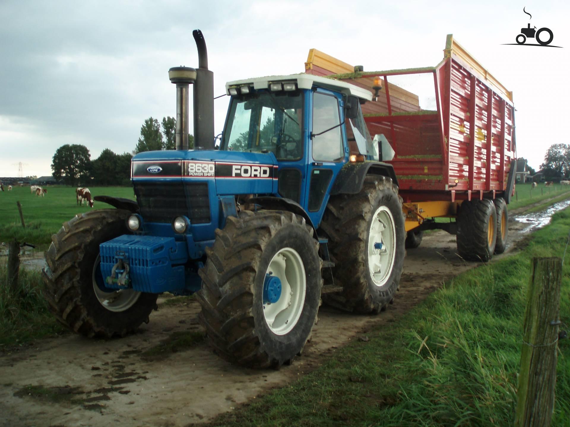 Купить трактор Ford 8630, год 1991, -, в Голландии ...