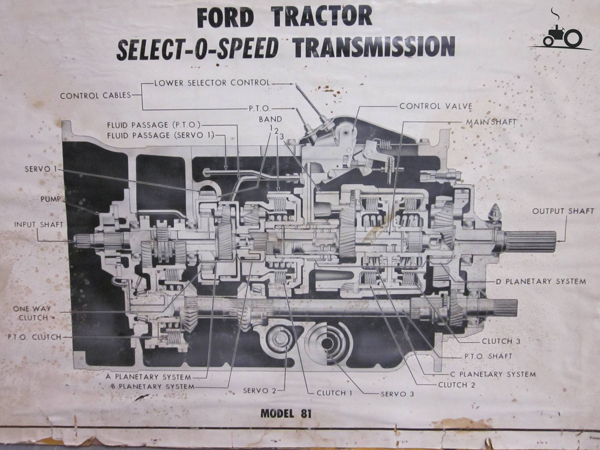 Ford 4000 Select O Matic : Select o speed ford tractor
