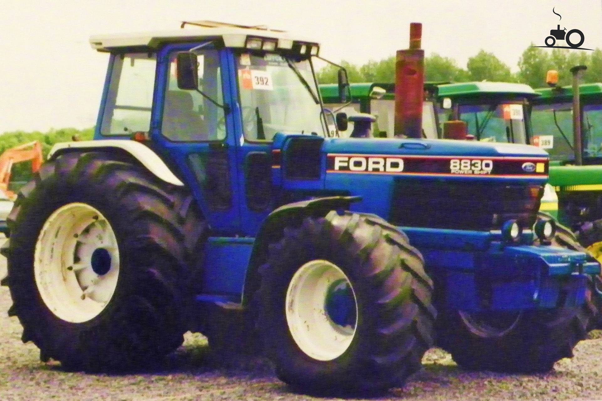 Ford 2000 Tractor Nose : Ford mighty long nose tw