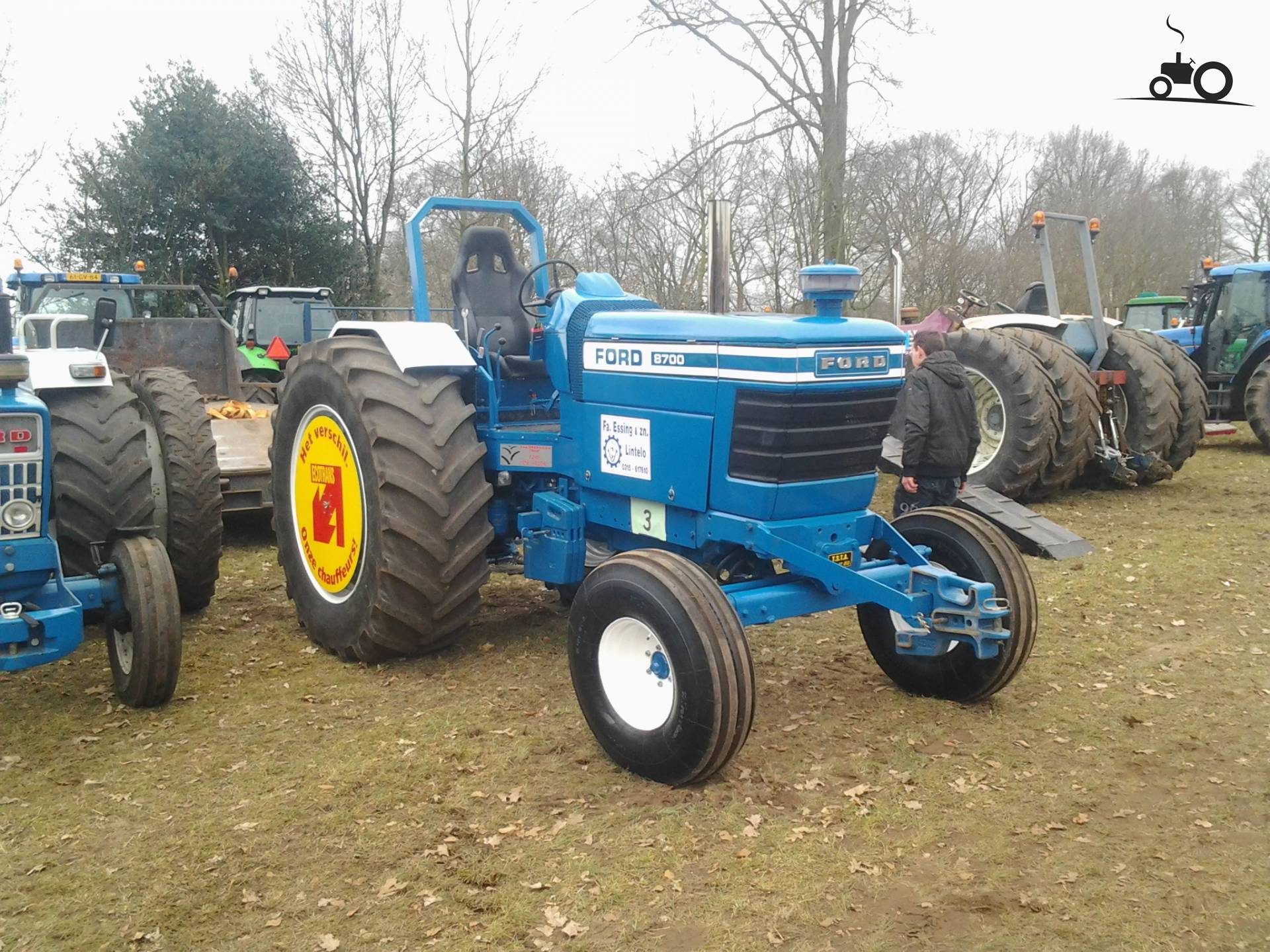 Ford 8700 Tractor : Image ford