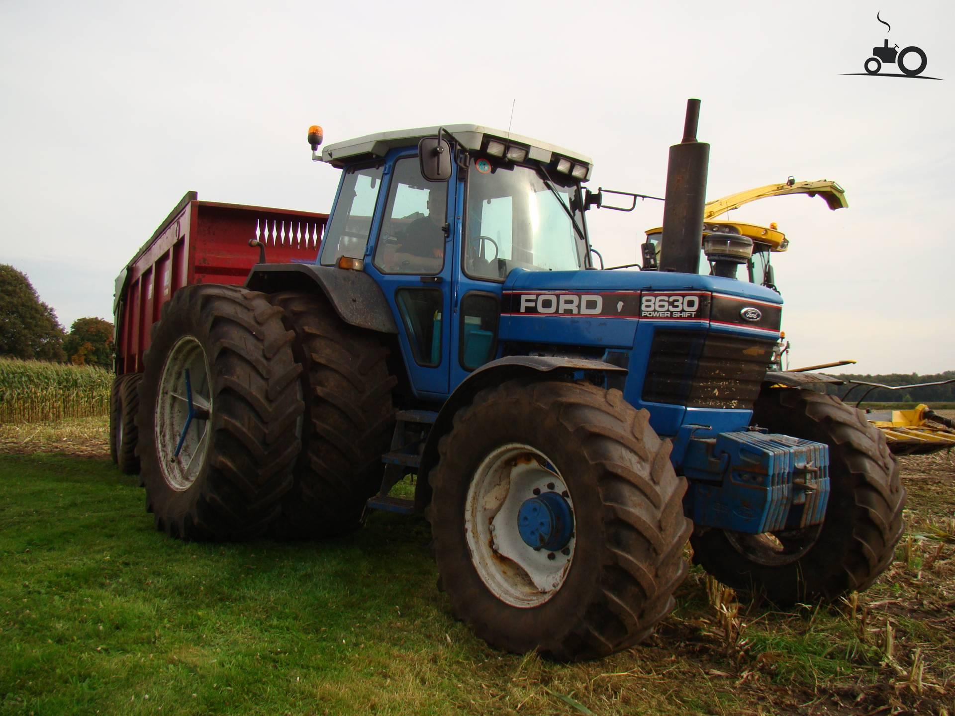 Сельскохозяйственные тракторы Ford 8630 - лучшие сельхоз ...