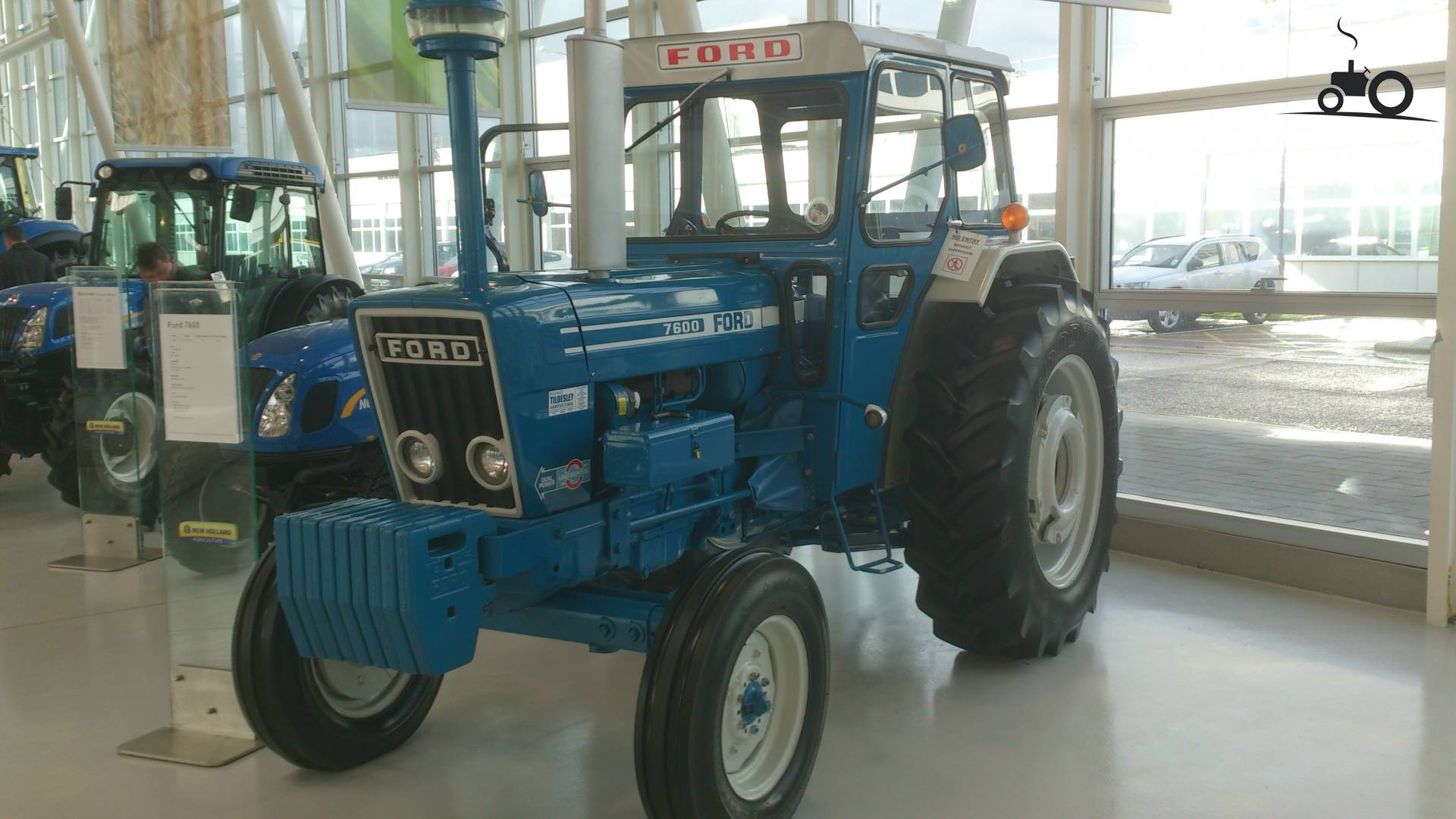 Tractor Data Ford 7600 : Ford specs and data everything about the