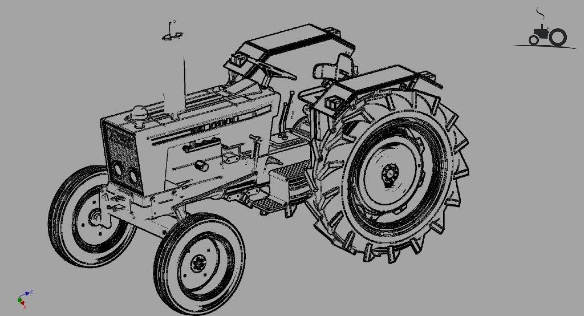 ford 6600 parts diagram