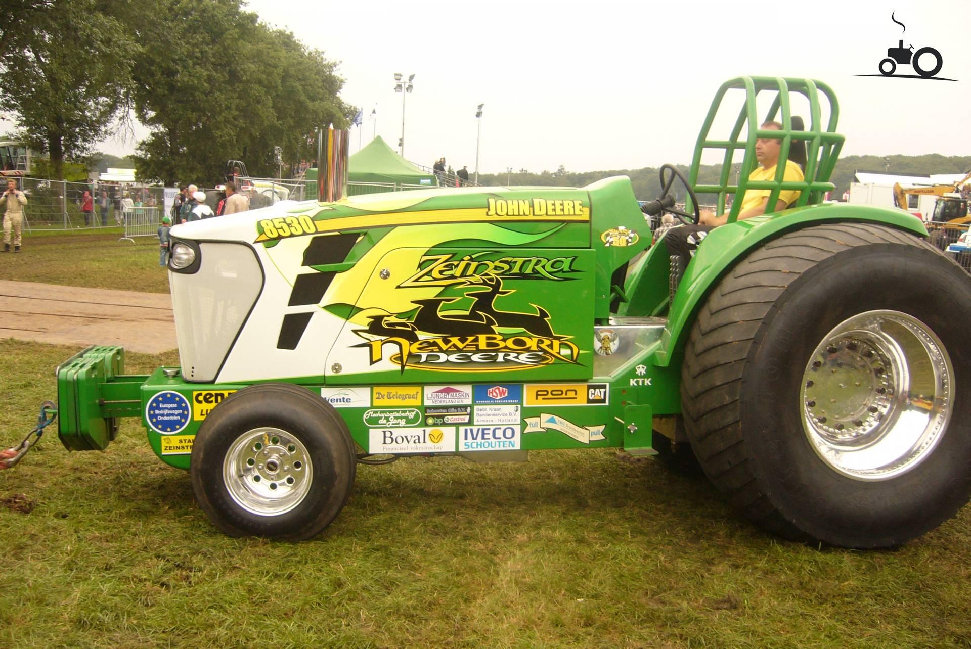 John Deere Super Stock Pulling Tractors : Foto tractorpulling super stock