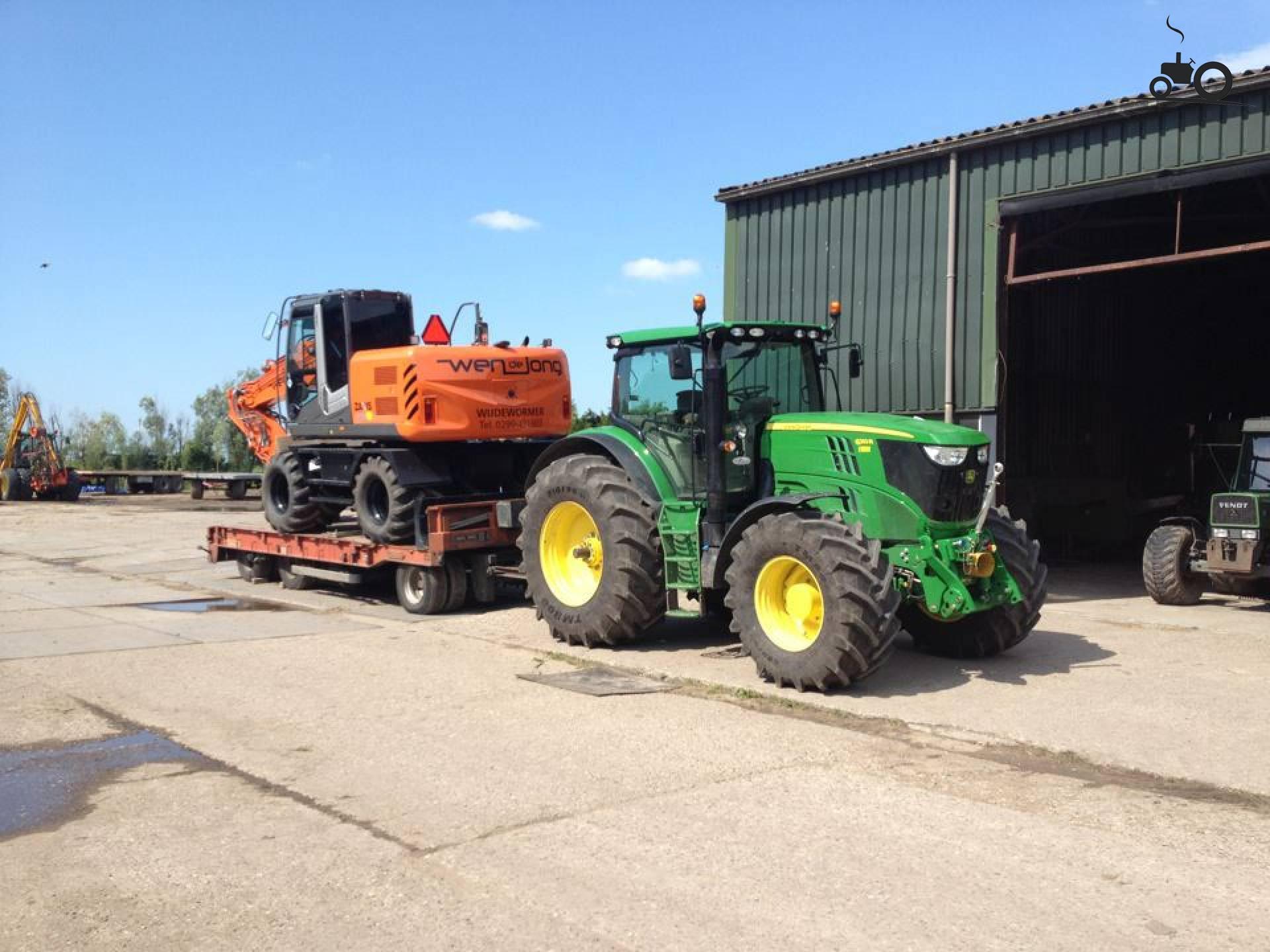 John Deere Tractors — John Deere 6210R - Posted By Johndeere7920