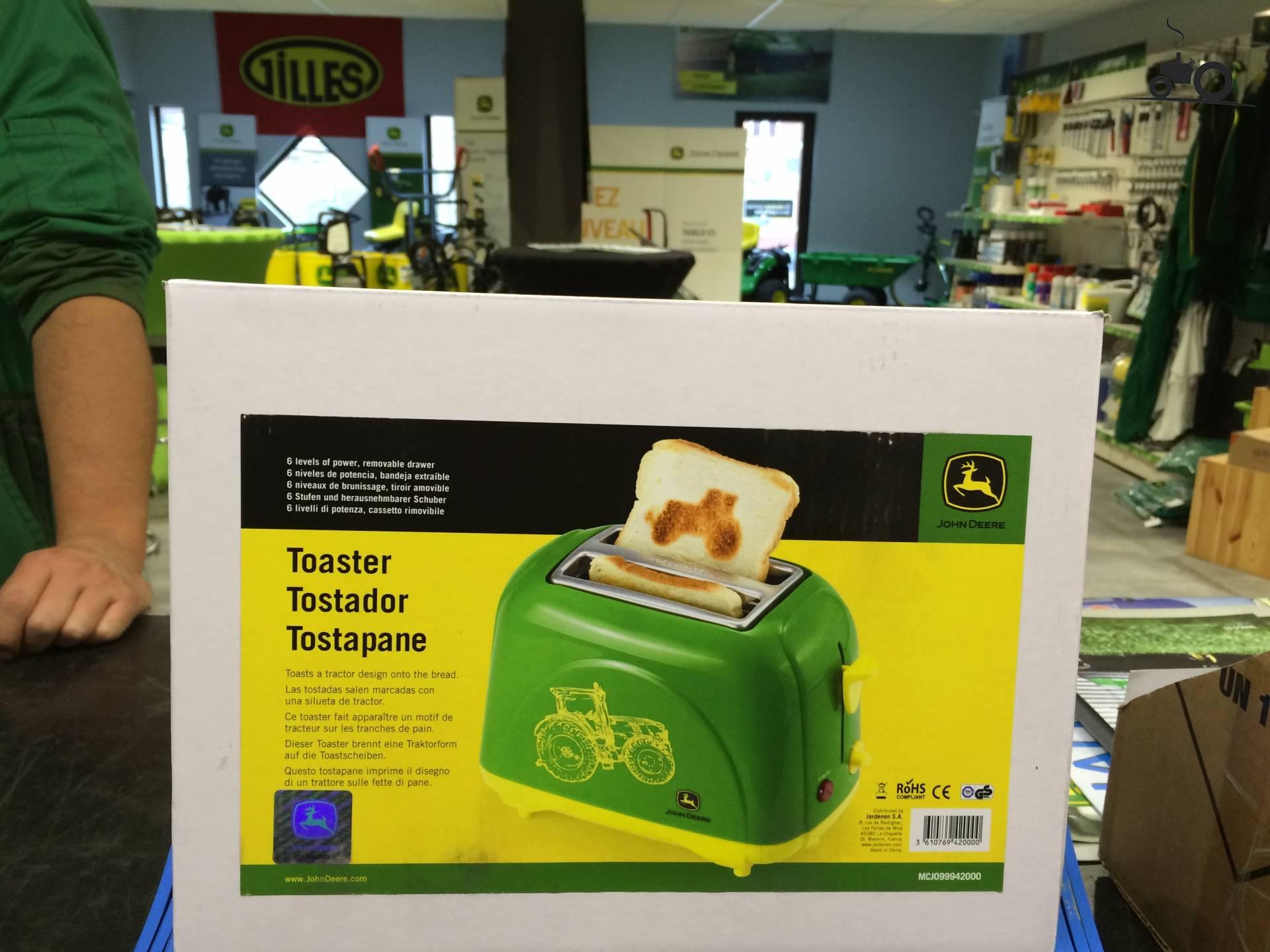 John Deere Toaster : Foto john deere merchandise