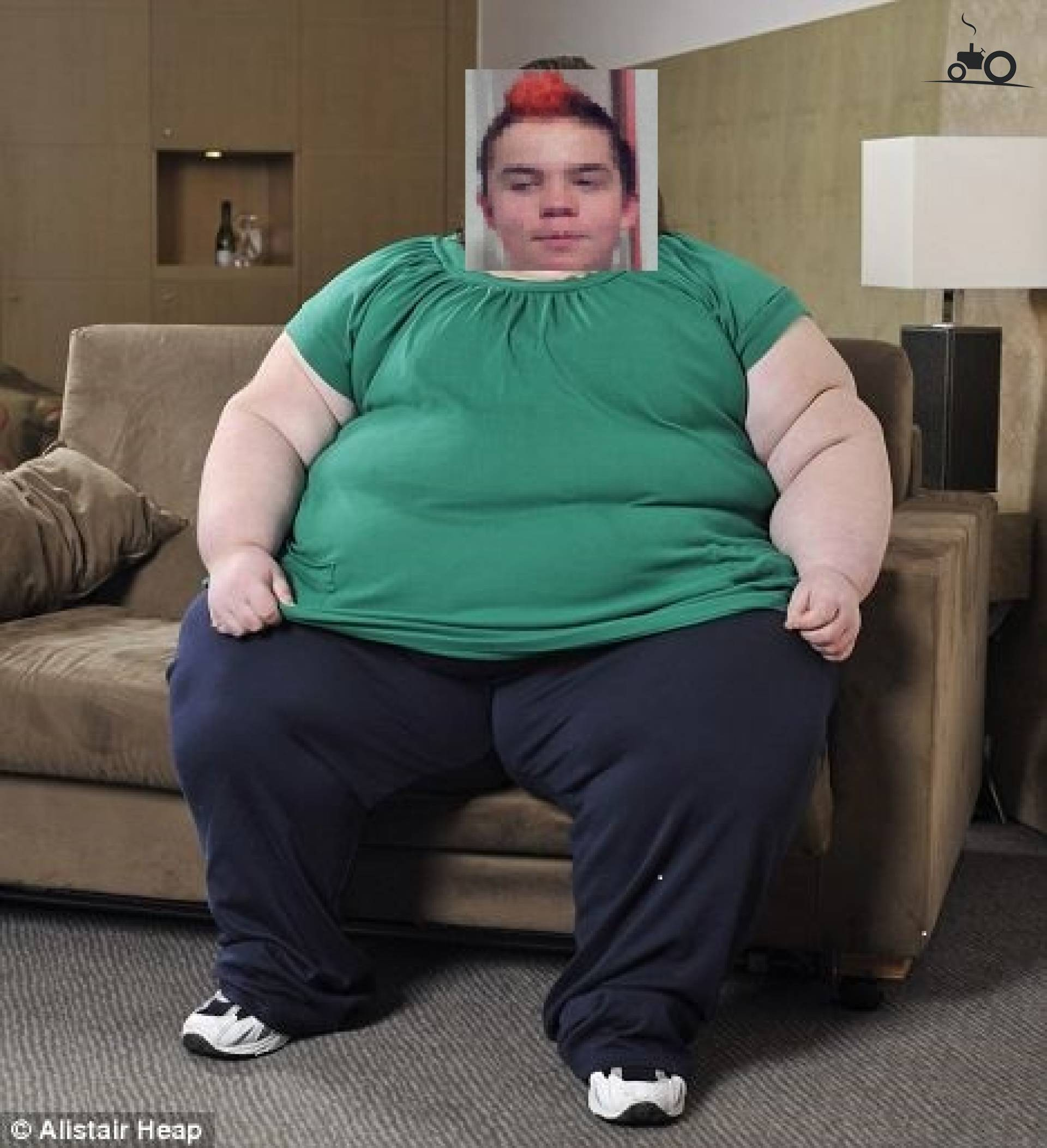 Тетя жирная