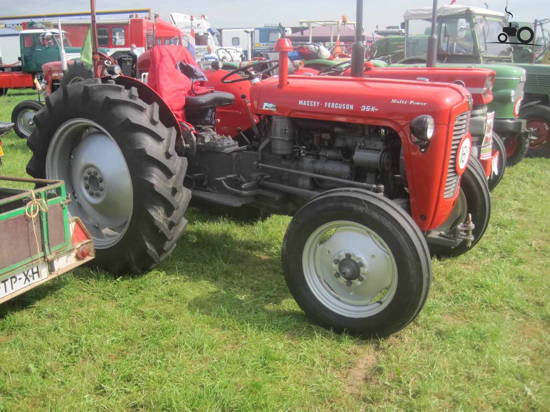Massey Ferguson 35 X Multipower
