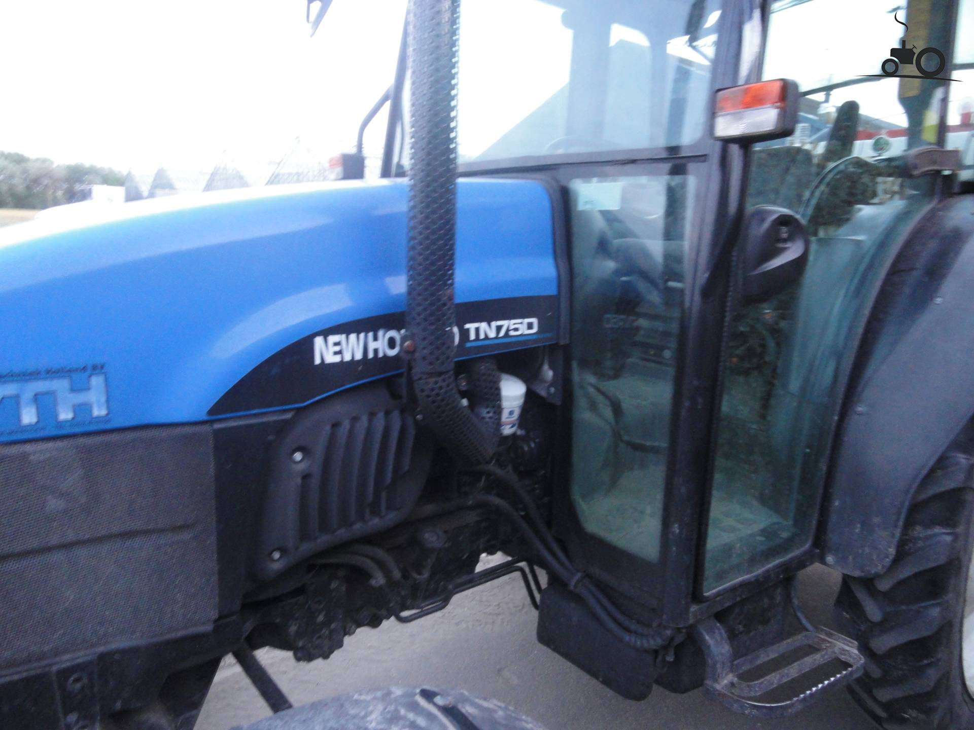 New holland tn 75 D specs Manual
