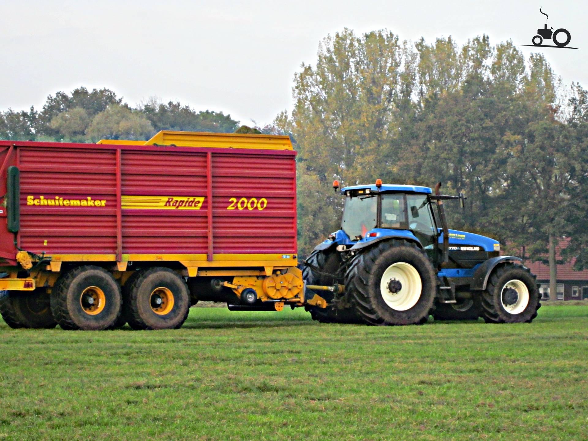 New Holland 8770 A