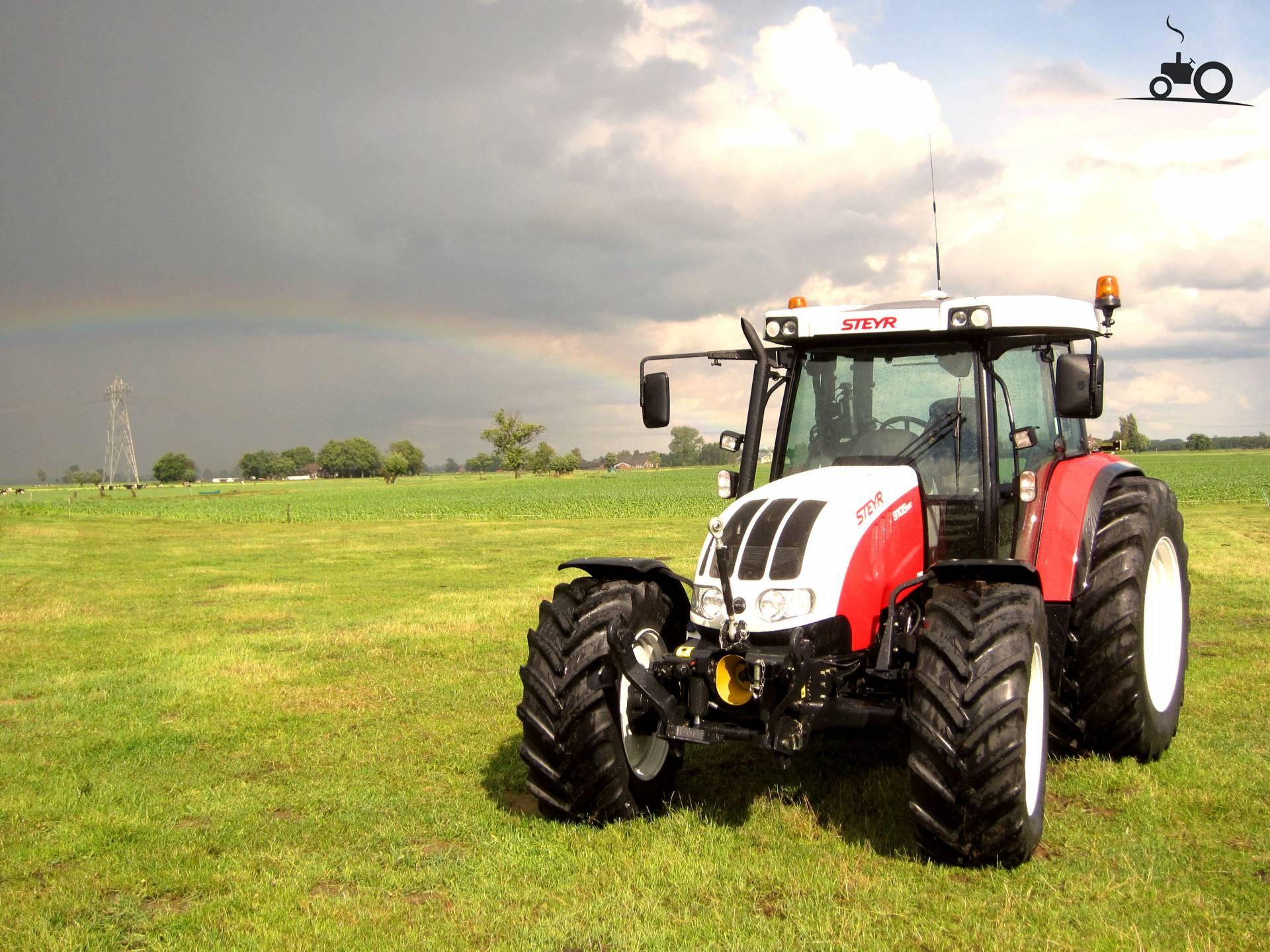 steyr 9105 mt traktoren traktor bilder video technische daten galerie. Black Bedroom Furniture Sets. Home Design Ideas