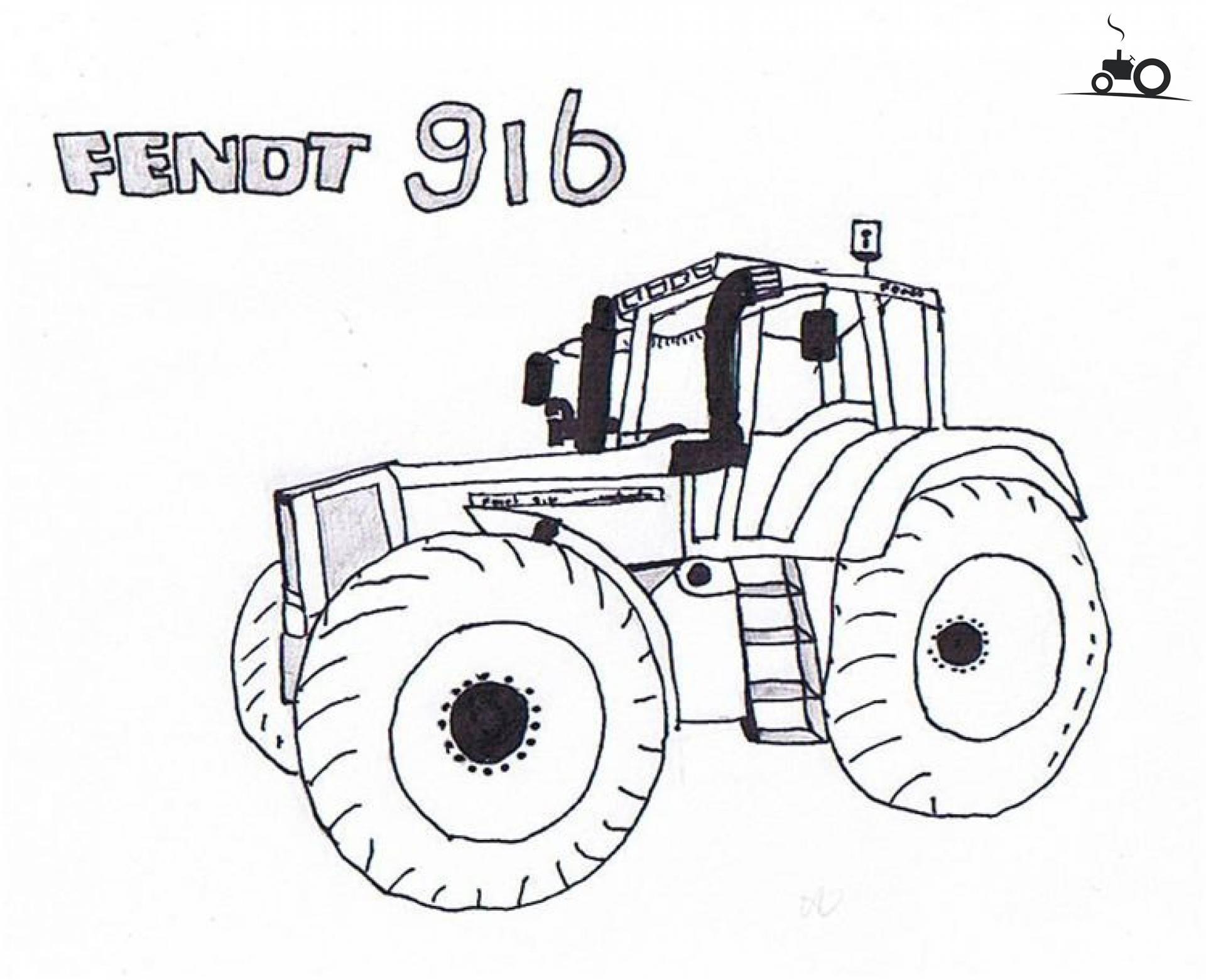 foto tractors tekening 529265