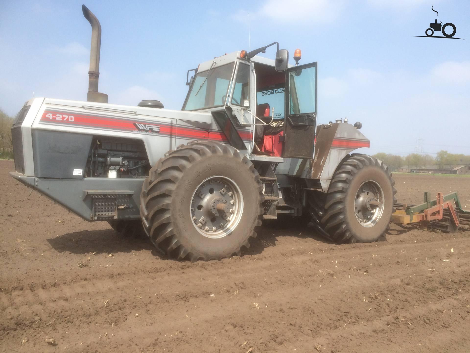 White 4 270 Tractor : White foto s