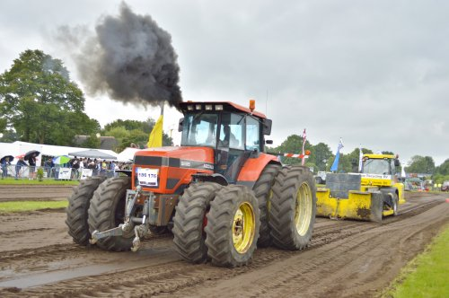 Agco Allis 9695 van fendt 410