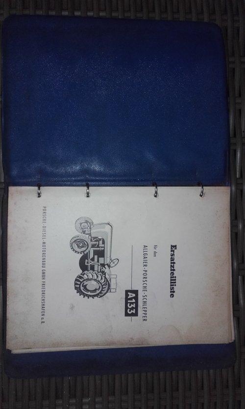Foto van een Allgaier A 133 instructieboekje.. Geplaatst door RPCounty op 19-05-2017 om 19:25:47, met 3 reacties.