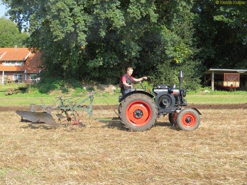 Foto van een Allgaier R22  , Wilsum dld 24-07-2017. Geplaatst door oldtimergek op 27-09-2017 om 20:43:50, op TractorFan.nl - de nummer 1 tractor foto website.