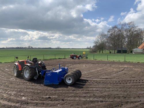 Op deze foto is Wolters Cultuurtechniek (Zwolle) × actief met een Antonio Cararro SRX.. Geplaatst door Pascal op 23-03-2020 om 22:12:50, op TractorFan.nl - de nummer 1 tractor foto website.