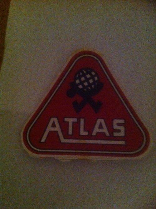 Atlas logo Wallpaper