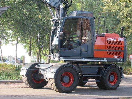 Foto van een Atlas 160W van HSW witteveen.. Geplaatst door oldtimergek op 18-10-2018 om 00:22:07, op TractorFan.nl - de nummer 1 tractor foto website.