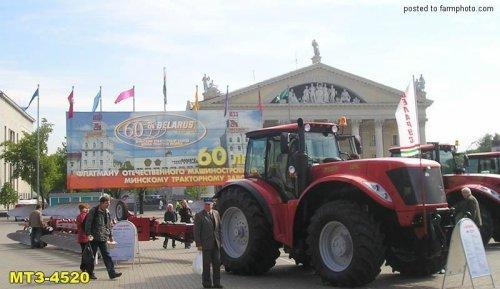 Belarus 4520 van mwissels