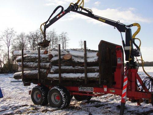 Bigab Haakarm van houtboer