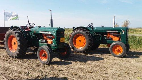 Foto van een Bolinder Munktell BM 55. Geplaatst door johnny red op 25-09-2016 om 13:58:05, op TractorFan.nl - de nummer 1 tractor foto website.