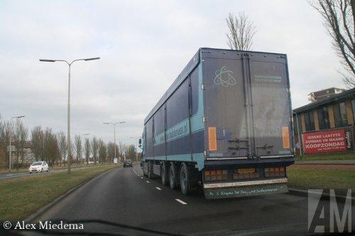Foto van een Bulthuis TDWA01, opgebouwd voor bulktransport.. Geplaatst door Alex Miedema op 15-03-2015 om 19:52:04, op TractorFan.nl - de nummer 1 tractor foto website.