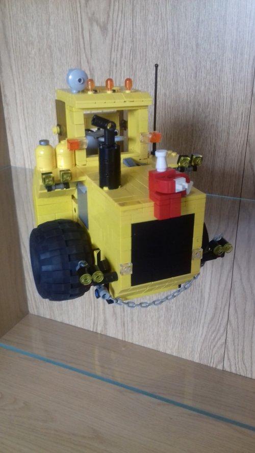 Cameco 405B van renault 651 power