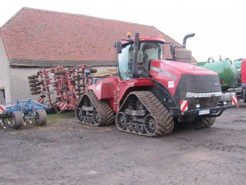 Foto van een Case IH Quadtrac 620. Geplaatst door jans-eising op 29-11-2016 om 12:46:54, op TractorFan.nl - de nummer 1 tractor foto website.