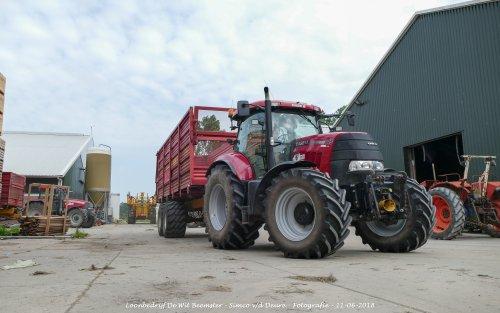 Case IH Puma 145 CVX van Loonbedrijf de Wit Beemster. Geplaatst door Simco vd Deure op 13-06-2018 om 11:27:08, op TractorFan.nl - de nummer 1 tractor foto website.