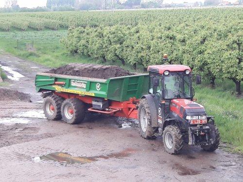 Case IH JX 1095 V van stijn-de-bock