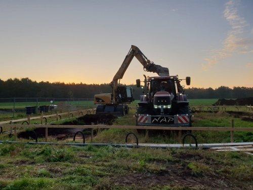 Foto van een Case IH Puma 200 CVX. Geplaatst door 105ls78 op 11-10-2018 om 20:44:09, op TractorFan.nl - de nummer 1 tractor foto website.