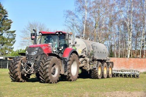 Foto van een Case IH Optum 270. Geplaatst door jd7920 op 02-03-2019 om 20:42:38, op TractorFan.nl - de nummer 1 tractor foto website.