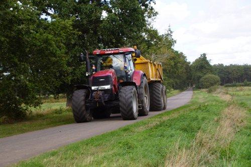 Foto van een Case IH Puma 195 CVX. Geplaatst door jans-eising op 08-11-2019 om 19:26:54, op TractorFan.nl - de nummer 1 tractor foto website.