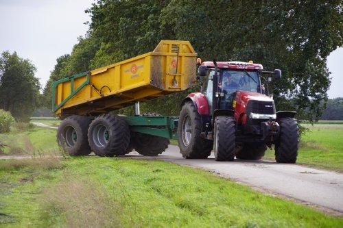 Foto van een Case IH Puma 195 CVX. Geplaatst door jans-eising op 08-11-2019 om 19:26:58, op TractorFan.nl - de nummer 1 tractor foto website.