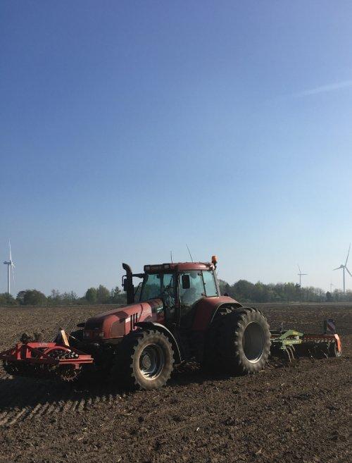 Foto van een Case IH CS 130, het laatste maisland voor 2020 klaargelegd.. Geplaatst door rubencasecs op 10-05-2020 om 12:50:37, met 7 reacties.