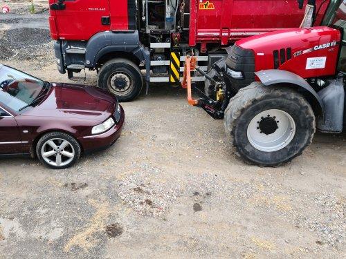 2x het neusje van de zalm  de cvx en mn nieuwe audi a8. Geplaatst door rubenv op 11-06-2020 om 19:24:29, op TractorFan.nl - de nummer 1 tractor foto website.