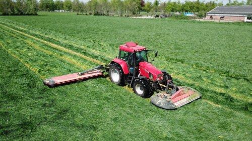 De CS moest goed aan werken van de week met een dik pak gras en 7 meter aan maaier. Geplaatst door timvanr op 16-05-2021 om 18:08:44, met 7 reacties.