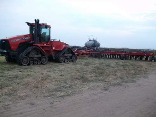 Case IH Quadtrac 485 van 955xl fan