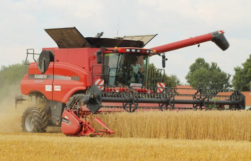 Case IH Axial Flow 8120 van ronaldclaas