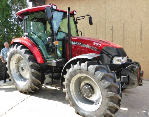 Case IH Farmall 105A van Oldtimer-fan