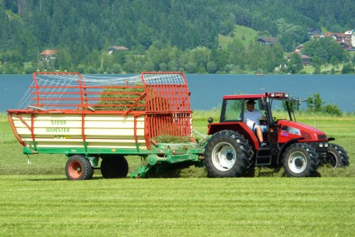 Case IH CS 75 van Oldtimer-fan