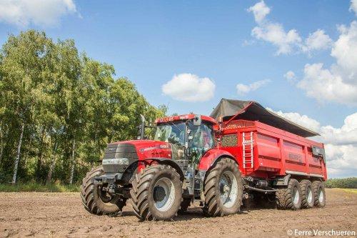 Tractor en kieper mooi op elkaar afgestemd als je het mij vraagt! (2016). Geplaatst door FerreV op 01-08-2016 om 22:11:54, op TractorFan.nl - de nummer 1 tractor foto website.