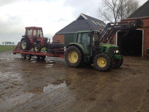 Foto van een International 585 nieuwe aanwinst. Geplaatst door DeutzD40L op 18-11-2016 om 19:43:05, op TractorFan.nl - de nummer 1 tractor foto website.