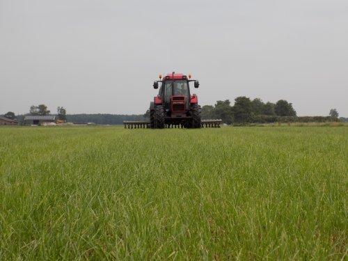 Land bemesten met de 956 XL. Geplaatst door Han745XL op 09-08-2018 om 21:28:26, op TractorFan.nl - de nummer 1 tractor foto website.