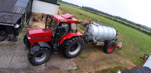 Case International Maxxum 5120 Plus van remco rooks