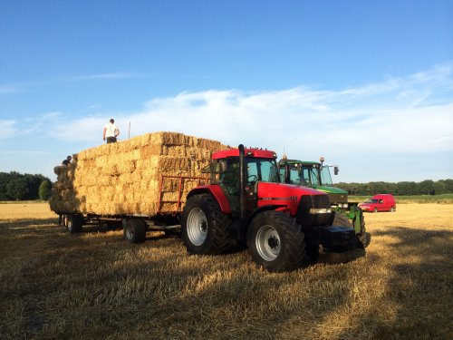 Case IH Maxxum MX 135 van case1455fendt924