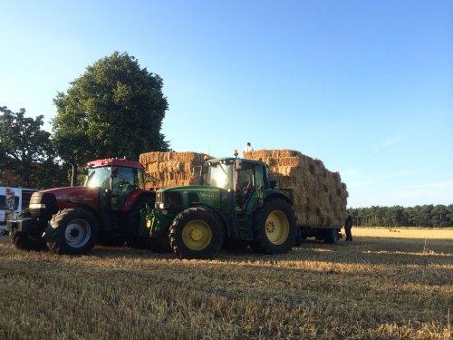 Tractors Diverse, foto van case1455fendt924