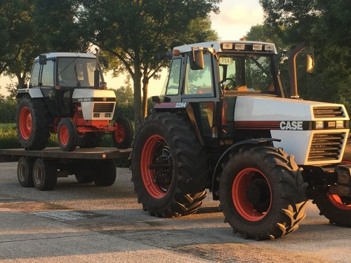 Case 2294 en David Brown 1190. Gereed voor de Landbouwdag Lange Slag te Leerbroek. Geplaatst door HeitecNL op 21-06-2019 om 09:36:03, met 9 reacties.