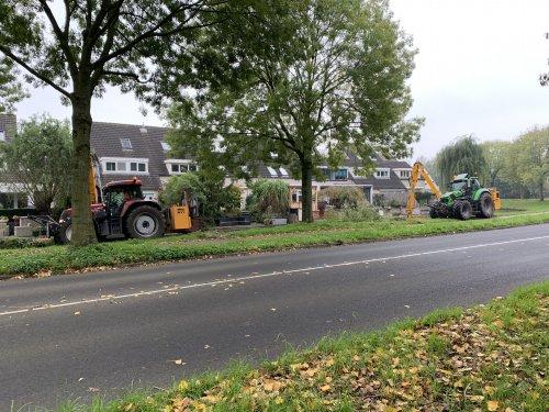 Foto van een Case CVX 150 en deutz ttv 6185. Geplaatst door gele velgen op 16-11-2019 om 21:42:07, op TractorFan.nl - de nummer 1 tractor foto website.